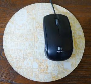 黃啟禎滑鼠墊