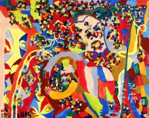 紀鷗集-葡萄園-30F(91X73cm)-2015