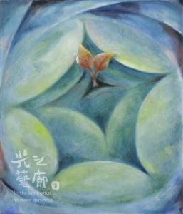 陳雯柔 詩念 45x53cm 油畫 2012